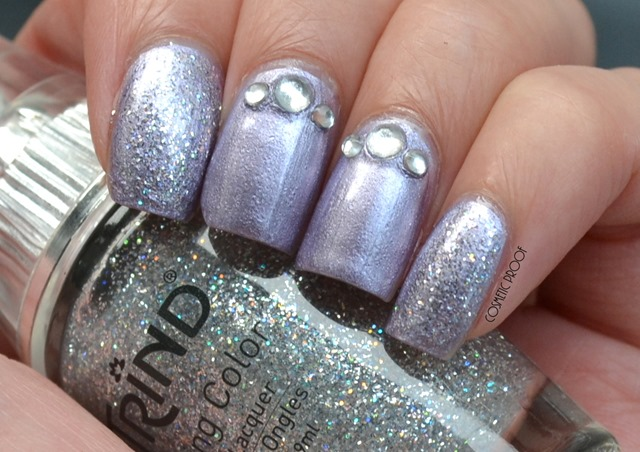 Trind Caring Color Nail Lacquer in Luscious Lavender (2)