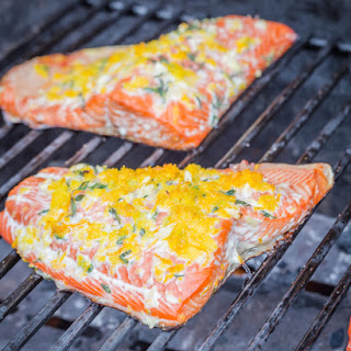 Easy Grilled Salmon Recipe with Orange and Thyme