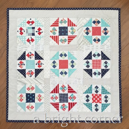 Titch mini quilt pattern