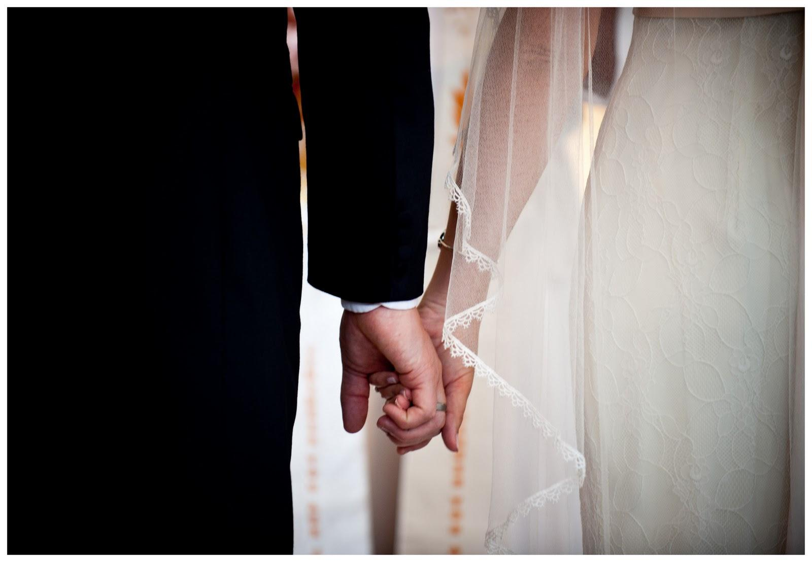 Real French & English Wedding: