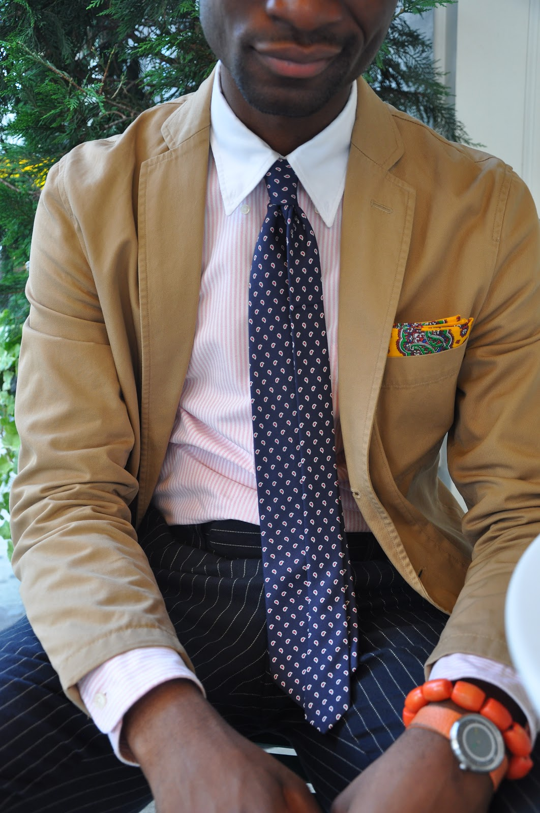 Unstructured Tan Cotton Jacket