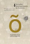 VIII Jornadas Internacionales de Guitarra de Valencia. Cartel de José Olid