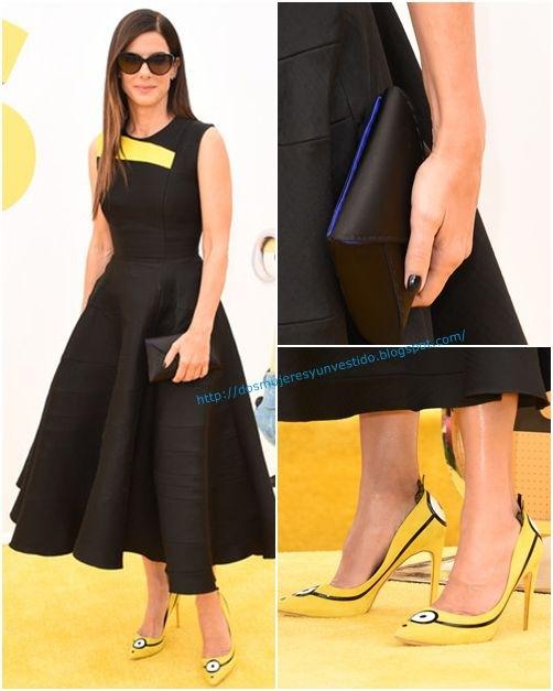 Sandra Bullock Minions Premiere
