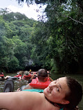 On The River Cave Tubin - Belize