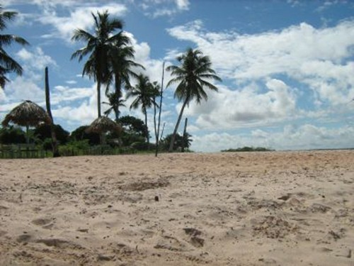 Praia de Santa Maria - Marapanim, foto: Elielma Borcem