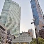 Plac Raffles Place - wyjście z metra.
