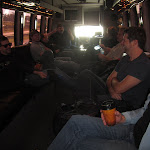 then its a long ride on the mini tourbus to the airport