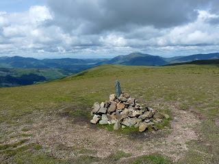 The views from Stybarrow Dodd were great towards Keswick and Skiddaw.