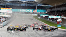 Malaysian GP Race Starts with all F1 cars