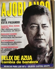 Félix de Azúa en Ajoblanco
