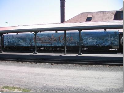 IMG_7651 Christmas Carol Train Car MRLX #801101 at Union Station in Portland, Oregon on July 1, 2009