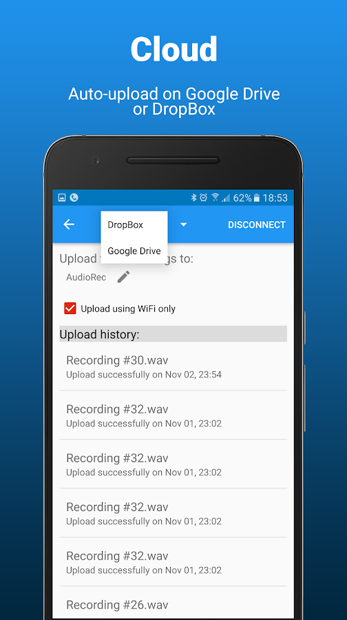 AudioRec Pro - Voice Recorder Screenshot 6