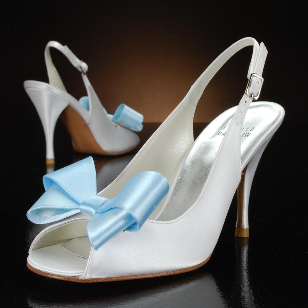 Light Blue bow, size 5.5