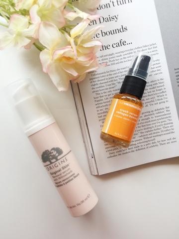 ole henriksen truth serum, Origins original skin renewal serum, skincare, skincare routine, skincare for oily skin