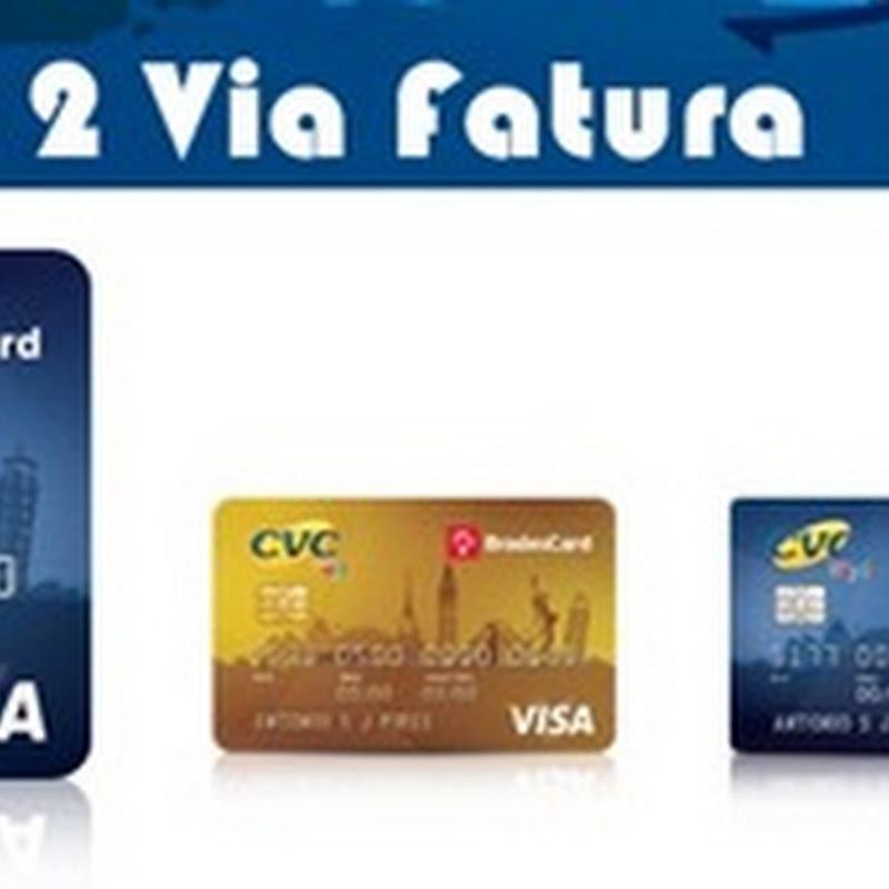 Emitir 2a Via Fatura do Cartão CVC