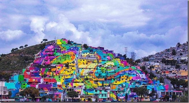 GiganticStreetArtPaintingon200HousesinMexico1-900x489