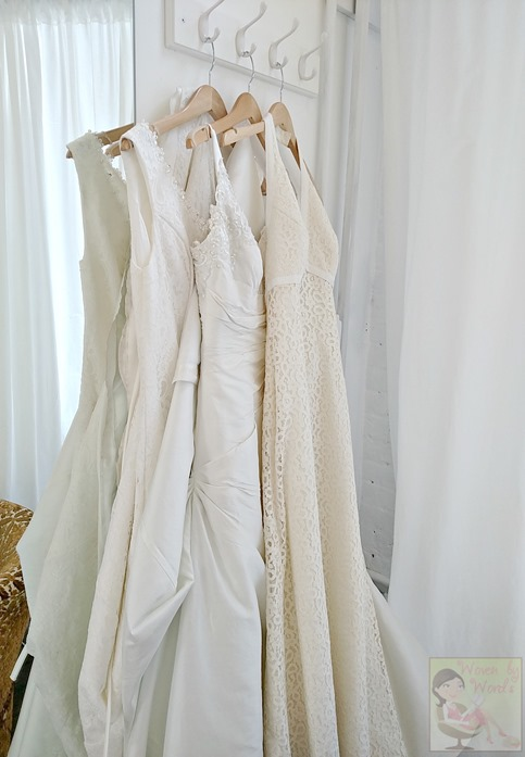 Wedding Dress Trio
