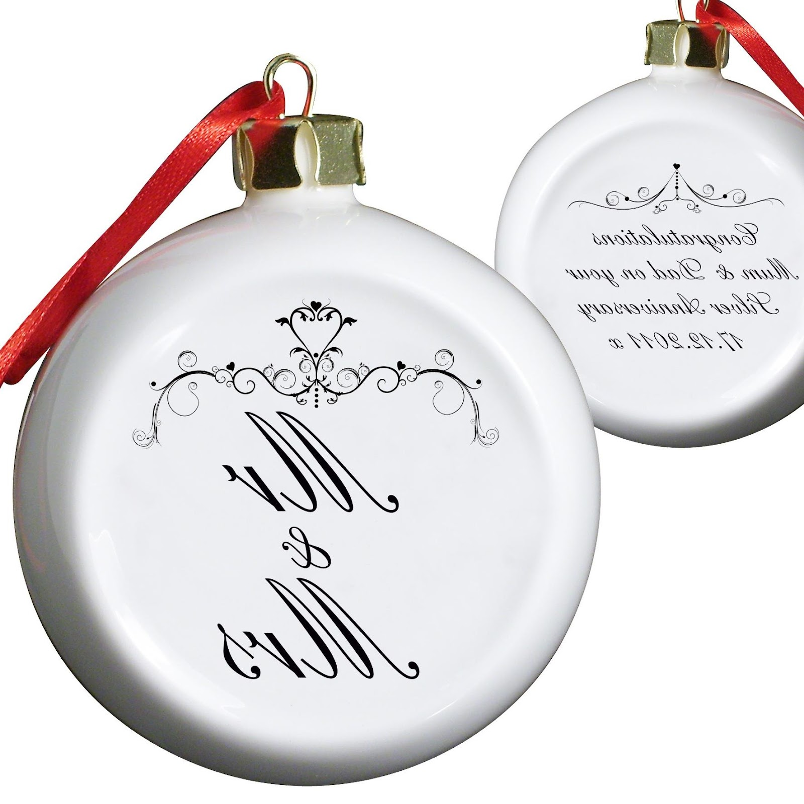 Couple Tree Decoration