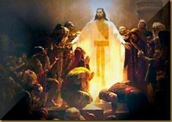 JESUS RESUCITADO CON DISCIPULOS