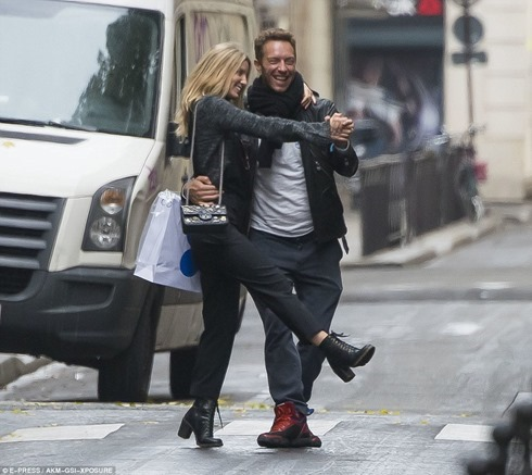 2015.10 Chris and Annabelle in Paris