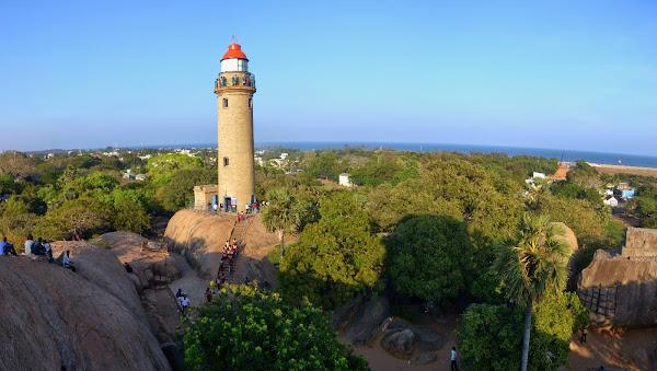 Mamalapuram lighthouse мамаллапурам маяк