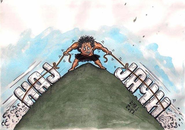 Бојан Јокановић, карикатура: НАЈЈАЧИ