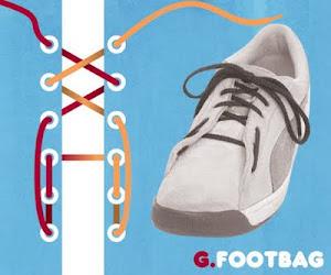 Memasang Tali Sepatu dengan Trik Footbag