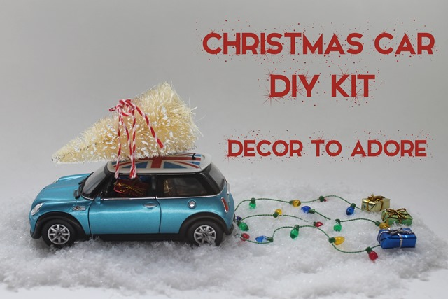 Christmas Car DIY Kit 008-002