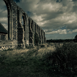Covehithe by Peter Rollings - Buildings & Architecture Places of Worship ( covehithe, church, cemetery, dramatic, suffolk, ruins, graveyard, decay )