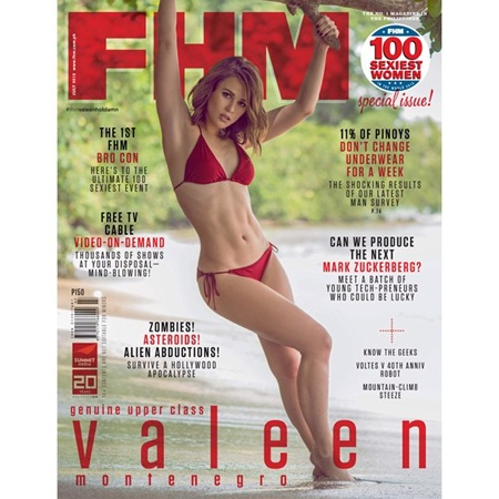 Valeen Montenegro - FHM PH July 2015