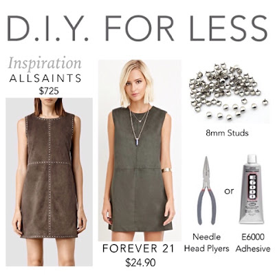 Do It Yourself Diy For Less How to apply studs to suede or leather dress clothing