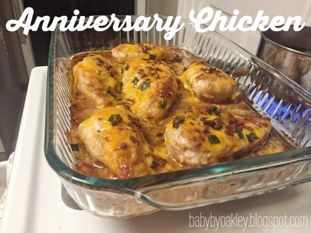 Recipe for anniversary chicken