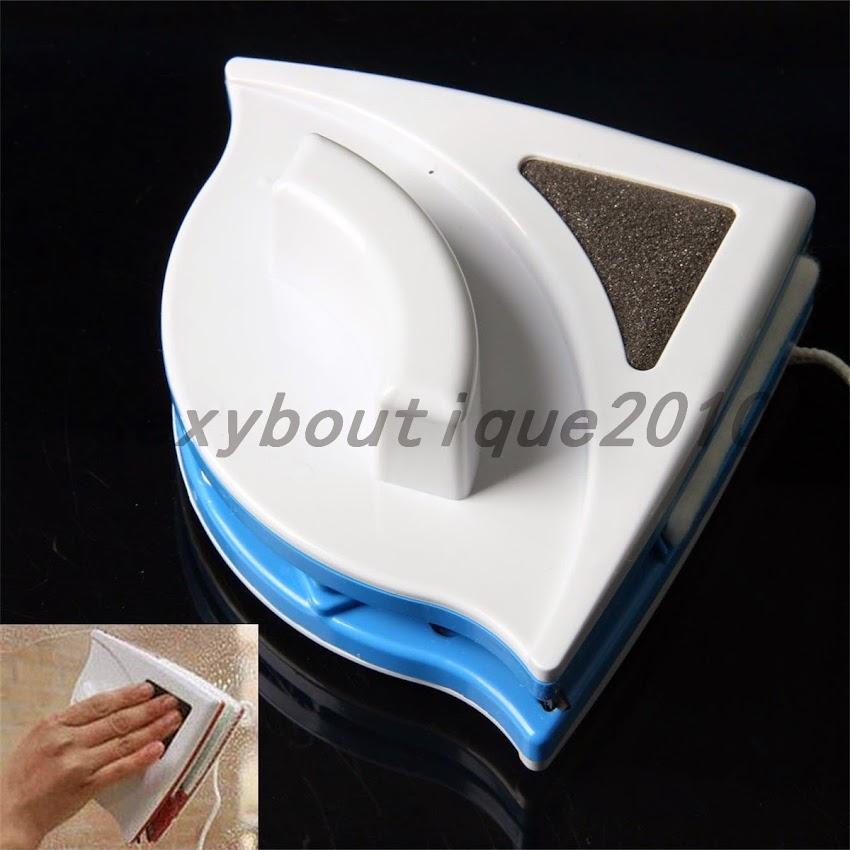 nettoyeur brosse raclette magn tique double c t nettoyage. Black Bedroom Furniture Sets. Home Design Ideas