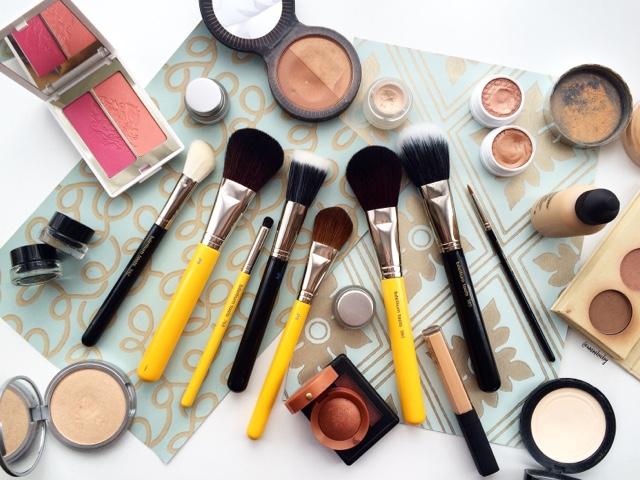 review of bdellium studio and maestro makeup brushes