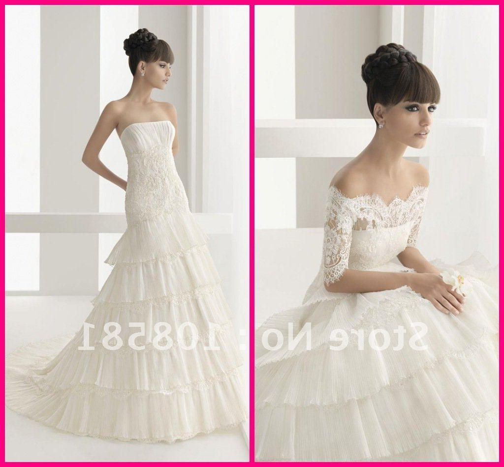 Lace luxury bridal gowns