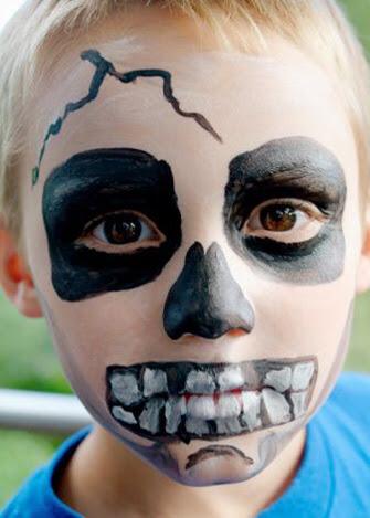 Ideas de maquillaje infantil para halloween gololo y for Caras pintadas para halloween