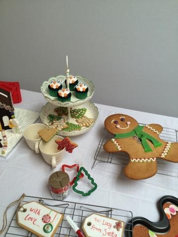Giant Gingerbread Man - Little House Lovely - Festive Food