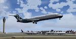 Citrus 203 seen leaving Atlanta on a flight to Akron-Canton