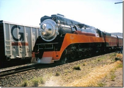 SP 4449 at Wishram on June 7, 1997