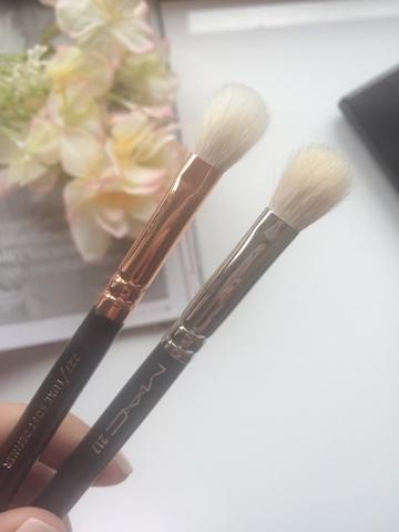 MAC 217, MAC 217 dupe, affordable MAC 217 dupe, Zoeva 227 review, Zoeva brushes, MAC brushes, beauty blogger, scottish blogger,