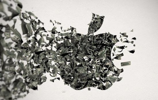 Uang Apple 100 Milyar dollar