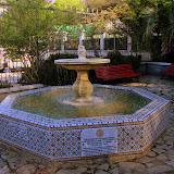 Fountain at the Botanic Garden - Gibraltar, UK