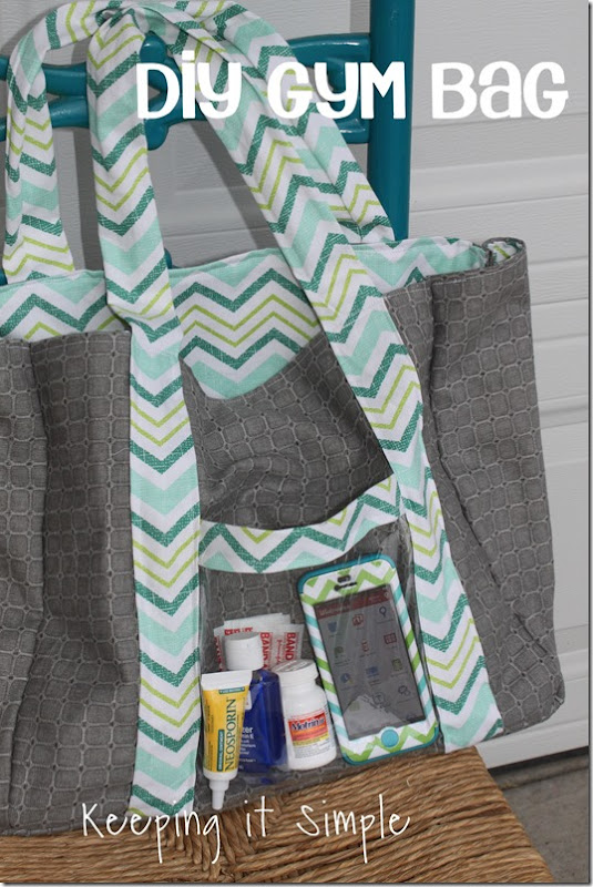 #ad DIY-Gym-Bag #RewardHealthyChoices