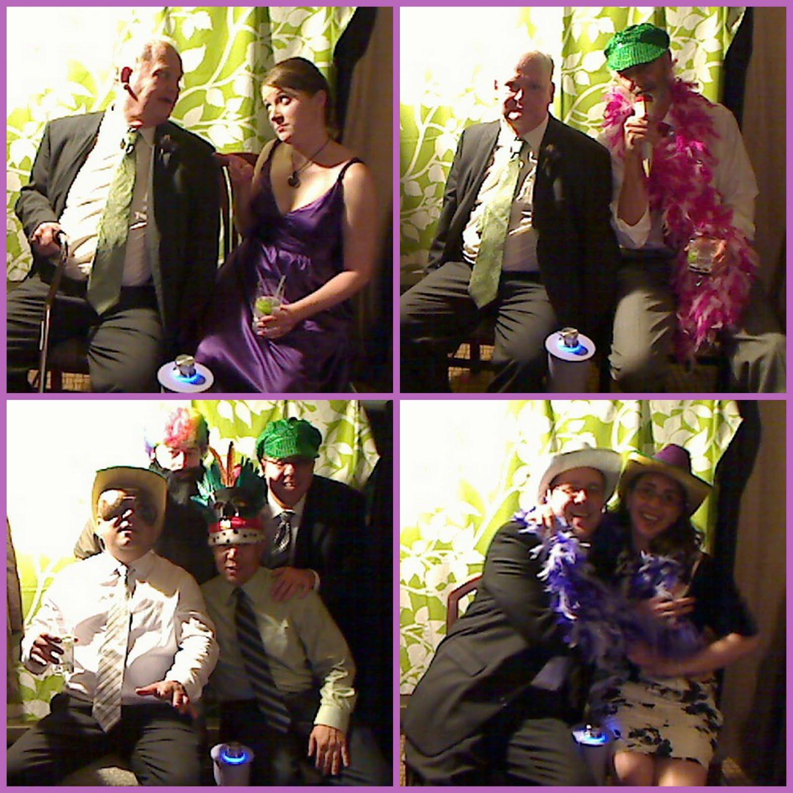 Fauxtobooth Fun : wedding