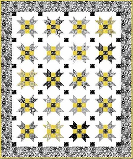 Parisian free quilt