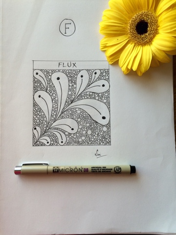 zentangle flux