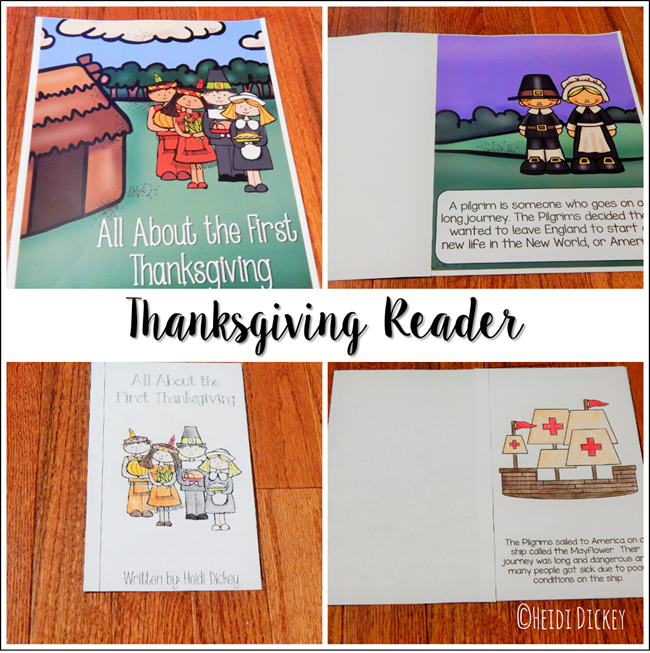Thanksgiving Readers