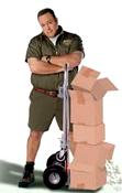 [parcel delivery]