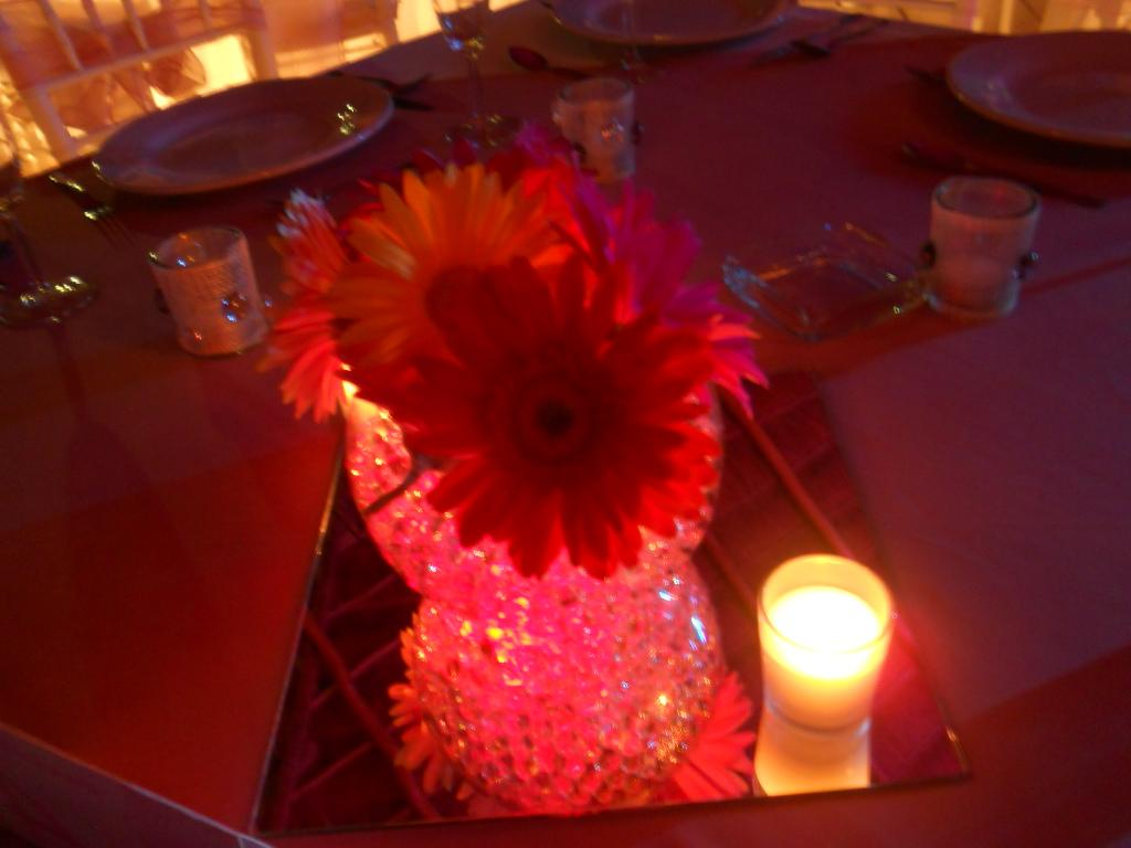 I loved the centerpieces,