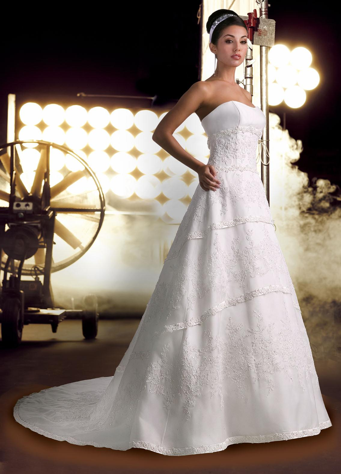 bridesmaid dresses Satin A